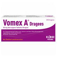 VOMEX A DRAGEES N, 20 ST, Klinge Pharma GmbH