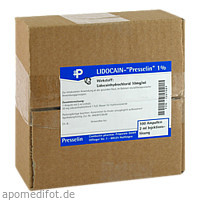 Lidocain-Presselin 1%, 100X2 ML, COMBUSTIN Pharmazeutische Präparate GmbH
