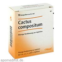 CACTUS COMP, 10 ST, Biologische Heilmittel Heel GmbH
