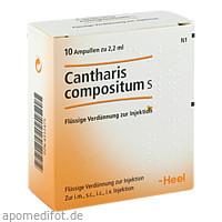 CANTHARIS COMP S, 10 ST, Biologische Heilmittel Heel GmbH