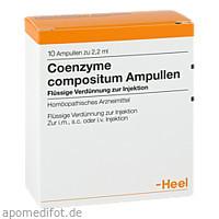 COENZYME COMP, 10 ST, Biologische Heilmittel Heel GmbH