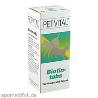 PETVITAL BIOTIN TABS, 50 ST, Canina Pharma GmbH