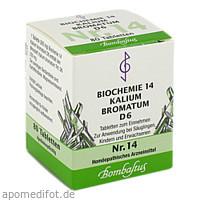 Biochemie 14 Kalium bromatum D 6, 80 ST, Bombastus-Werke AG