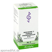 Biochemie 3 Ferrum phosphoricum D 12, 200 ST, Bombastus-Werke AG