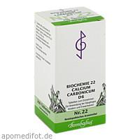 Biochemie 22 Calcium carbonicum D 6, 200 ST, Bombastus-Werke AG