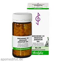 Biochemie 24 Arsenum jodatum D 6, 200 ST, Bombastus-Werke AG