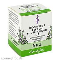 Biochemie 3 Ferrum phosphoricum D 3, 80 ST, Bombastus-Werke AG