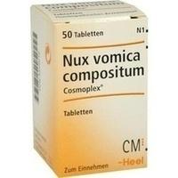 NUX VOMICA COMPOSITUM COSMOPLEX, 50 ST, Biologische Heilmittel Heel GmbH