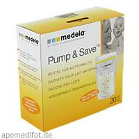 MEDELA Milchbeutel Neu steril, 20 ST, Medela Medizintechnik GmbH & Co. Handels KG