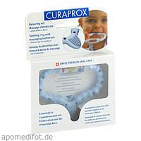 CURAbaby Boy blau CBR Beißring, 1 ST, Curaden Germany GmbH