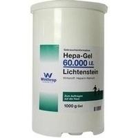 Hepa-Gel 60000 I.E. Lichtenstein, 1000 G, Zentiva Pharma GmbH