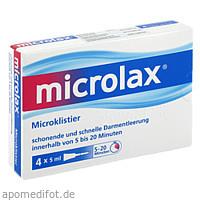 Microlax Klistiere, 4 ST, Emra-Med Arzneimittel GmbH