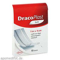 Draco Plast Soft Pflaster 1mx4cm, 1 ST, Dr. Ausbüttel & Co. GmbH