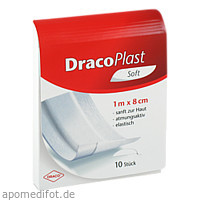 Draco Plast Soft Pflaster 1mx8cm, 1 ST, Dr. Ausbüttel & Co. GmbH