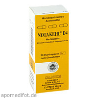 NOTAKEHL D 4, 20 ST, Sanum-Kehlbeck GmbH & Co. KG