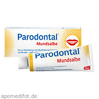 Parodontal Mundsalbe, 20 G, Serumwerk Bernburg AG
