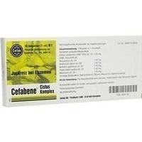 Cefabene Cistus Komplex, 10X1 ML, Cefak KG