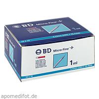 BD Micro-Fine+ U40 Ins.Spr.12.7mm, 100X1 ML, Becton Dickinson GmbH