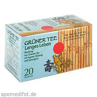 GRÜNER TEE + INGWER + GINSENG, 20 ST, Allpharm Vertriebs GmbH