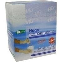 HOEGA STERIL 8FA 10X10, 25X2 ST, Höga-Pharm G.Höcherl
