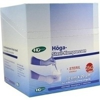 HOEGA STERIL 8FA 10 X 20, 25X2 ST, Höga-Pharm G.Höcherl