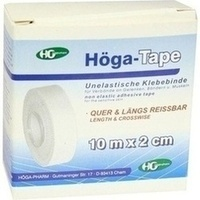 HOEGA TAPE 10MX2CM, 1 ST, Höga-Pharm G.Höcherl