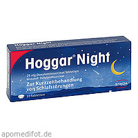 HOGGAR Night Tabletten, 10 ST, STADA Consumer Health Deutschland GmbH