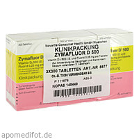 ZYMAFLUOR D 500, 3X300 ST, Meda Pharma GmbH & Co. KG