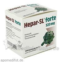 HEPAR SL forte Hartkapseln, 100 ST, MCM Klosterfrau Vertriebsgesellschaft mbH
