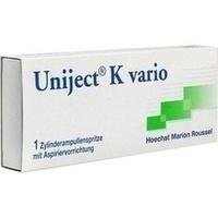 UNIJECT K vario Zylinderampullenspritze, 1 ST, Sanofi-Aventis Deutschland GmbH
