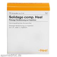 Solidago comp. Heel, 10 ST, Biologische Heilmittel Heel GmbH