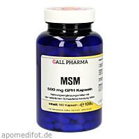 MSM 500mg GPH Kapseln, 180 ST, Hecht-Pharma GmbH