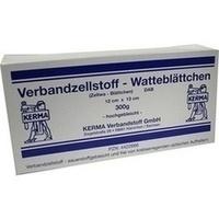 VERBANDZELLSTOFF WATTEBLÄTTCHEN HOCHGEBL.12x13CM, 300 G, Kerma Verbandstoff GmbH