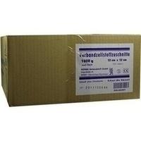 VERBANDZELLSTOFF ZUSCHNITTE HOCHGEBLEICHT 12x12CM, 1000 G, Kerma Verbandstoff GmbH