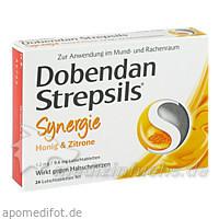 DOBENDAN Strepsils Syn.Hon.Zit.1,2mg/0,6mg Lut.-T., 24 ST, Reckitt Benckiser Deutschland GmbH
