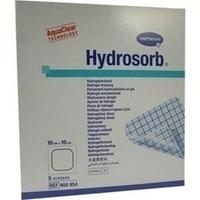 HYDROSORB Wundverband 10x10 cm, 5 ST, PAUL HARTMANN AG