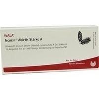 ISCUCIN ABIETIS STAERKE A, 10X1 ML, Wala Heilmittel GmbH