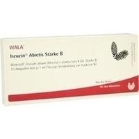 ISCUCIN ABIETIS STAERKE B, 10X1 ML, Wala Heilmittel GmbH