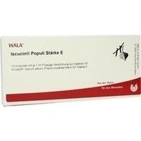ISCUCIN POPULI STAERKE E, 10X1 ML, Wala Heilmittel GmbH