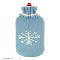 Wärmflasche Gummi 2L m. Rollkragen-Pullover-Bezug, 1 ST, Careliv Produkte Ohg
