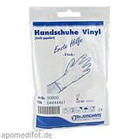 ANTI AIDS HANDSCHUHE VINYL, 4 ST, Dr. Junghans Medical GmbH