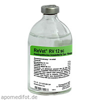 REVET RV 12 sc Inj.-Lösung vet., 100 ML, Dr.RECKEWEG & Co. GmbH