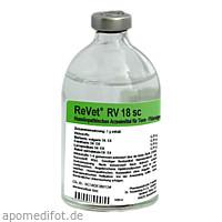 REVET RV 18 sc Inj.-Lösung vet., 100 ML, Dr.RECKEWEG & Co. GmbH