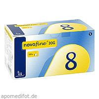 novofine 8 Kanülen 0.30x8mm, 100 ST, Medi-Spezial GmbH