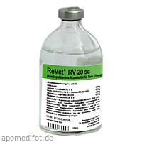 REVET RV 20 sc Inj.-Lösung vet., 100 ML, Dr.RECKEWEG & Co. GmbH