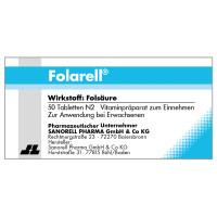 Folarell, 50 ST, Sanorell Pharma GmbH & Co. KG