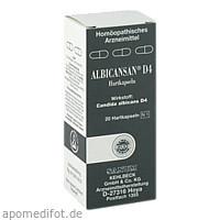 ALBICANSAN D 4, 20 ST, Sanum-Kehlbeck GmbH & Co. KG
