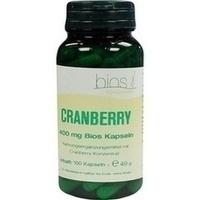 Cranberry 400mg Bios Kapseln, 100 ST, Bios Medical Services