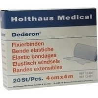 DEDERON FIXIERBIN 4MX4CM, 20 ST, Holthaus Medical GmbH & Co. KG