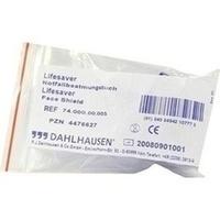 Notfall Beatmungs Tuch Livesaver, 1 ST, P.J.Dahlhausen & Co. GmbH